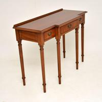 Antique Georgian Style  Mahogany Console Table (8 of 10)