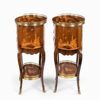Pair of French Rosewood Occasional Tables (5 of 8)