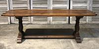 French Oak Farmhouse Refectory Dining Table (20 of 20)
