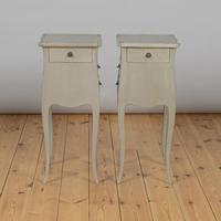 Pair of Large French Painted Bedside Cabinets (9 of 9)