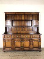 Large 20th Century Georgian Style Oak Dresser (2 of 23)