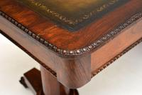 Antique William IV Rosewood Desk / Writing Table (10 of 15)