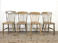 Set of Four Mix & Match Farmhouse Chairs (4 of 10)
