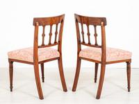 Pretty Pair of Mahogany Regency Side Chairs (5 of 6)