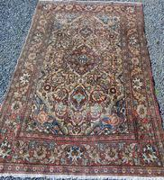 Antique Persian Ispahan Rug (10 of 11)