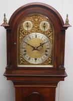 Antique Grandmother Clock 8 Gong Musical Longcase Clock with Dual Chimes by W&H c.1880 (7 of 15)