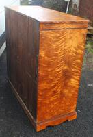 Beautiful 1880's Satin Birch Chest Drawers (2 of 6)