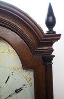 18th Century Longcase Clock Fine English Oak Ashford Grandfather Clock Painted Dial c.1757 (11 of 12)