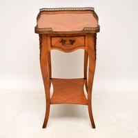 Antique French King Wood Side Table (8 of 9)