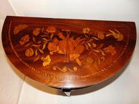 Dutch Mahogany & Marquetry Side Table (3 of 11)