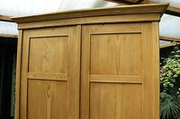 Quality! Large Old Pine Double 'Knock Down' Wardrobe - We Deliver! (6 of 17)
