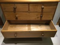 Large Early Victorian Chest of Five Drawers (6 of 8)