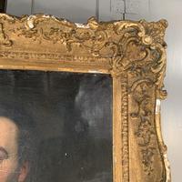 Antique large Georgian oil painting portrait of a gentleman Stanley Jones of Broadgate, Ludlow (3 of 13)
