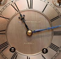 Mahogany Four Glass Ting Tang Mantel Clock (8 of 9)