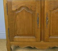 Antique Oak Marble Top Cabinet / Washstand (3 of 6)