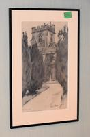 Superb Pair of Drawings by Charles Walter Simpson (6 of 8)