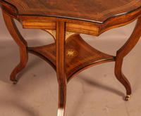 Fine Quality Rosewood Occasional Table c.1890 (6 of 6)