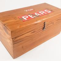 Pears Enamel Advertising Pine Box (2 of 7)