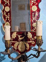 Pair of Venetian Mirrors with Applique, 1880 (2 of 9)