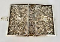 Sterling Silver Book Cover. London 1910. (7 of 8)