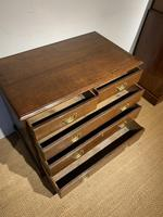 Small Georgian Oak Chest of Drawers (5 of 7)
