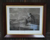 'Snowball the Greyhound' Framed Engraving (2 of 4)
