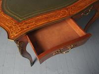Antique Victorian Inlaid Kingwood Writing Table (12 of 14)