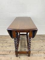 Antique Oak Gateleg Table (7 of 11)