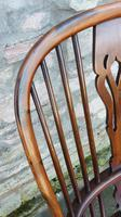 Wonderful Example of Handsome Yew High Back Windsor Chair (6 of 8)