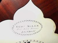 Regency Mahogany Gothic Bracket Clock (5 of 12)