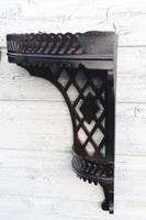 Aesthetic Movement, pierce-work corner shelves with galleries (a pair) c.1880 (9 of 35)