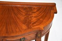 Antique Georgian Style Mahogany Console Table (7 of 8)
