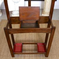Oak Hat Coat Stand Arts & Crafts (5 of 9)