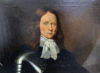 Huge Oil Portrait Painting of 17th Century General John Richmond Webb (4 of 16)