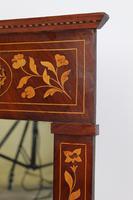 19th Century Dutch Inlaid Mahogany Mirror (11 of 13)