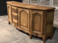 Bow Front French Bleached Oak Enfilade (4 of 11)