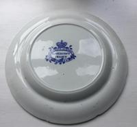 Early 19th Century Blue & White Plate of Lanercost Priory, Cumbria (2 of 2)
