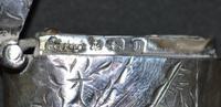 1907 Edwardian Silver Vesta by Birmingham's Constantine & Floyd Ltd (3 of 5)