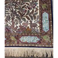 Superb Persian Silk Rug. Tree of Life Design (8 of 9)