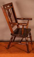 Rare Childs Mendlesham Chair in Yew Wood (3 of 8)