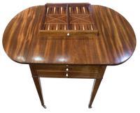 George III Sheraton Period Pembroke Games Table (5 of 8)