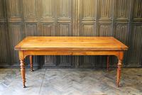 Large Extending Cherrywood Farmhouse Table (12 of 12)