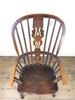 Antique Ash & Elm Windsor Armchair (9 of 11)