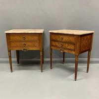 Set of 4 French Marble Top Side Tables (2 of 11)