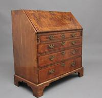 18th Century walnut & feather banded bureau (11 of 17)