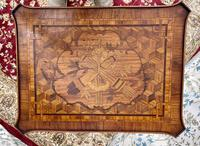 Pair of French Parquetry / Marquetry Side Tables (13 of 20)
