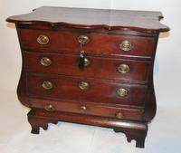 Dutch Oak Bombe Chest of Drawers (3 of 9)