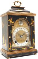 Good Caddy Top Mantel Clock – Chinoiserie Striking 8-day Mantle Clock by Elliot London (3 of 13)
