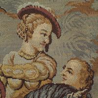 Antique Verdure Tapestry, French, Decorative Panel, Wall Covering, Victorian (6 of 12)