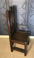 Victorian Gothic Revival Hall Chair (13 of 13)
